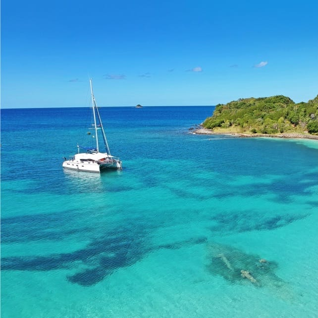 Deserted Island Catamaran Cruise and Picnic  | Marriott Bonvoy Activities